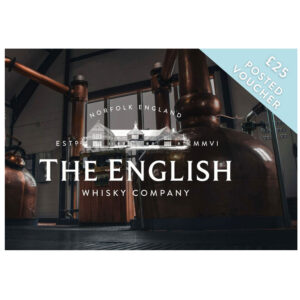 English Whisky £25 Posted Gift Voucher