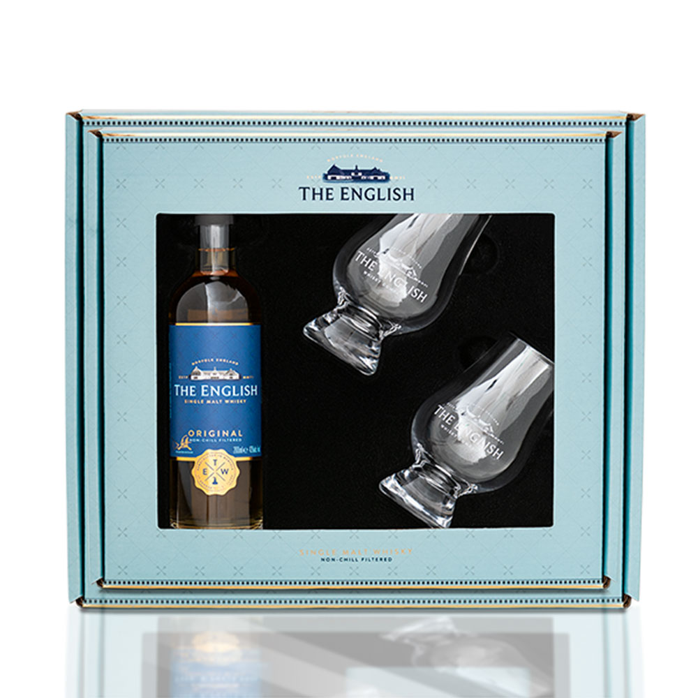 Gift Pack - The English & 2 Glasses