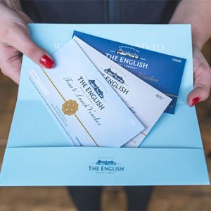 English Whisky Gift Vouchers