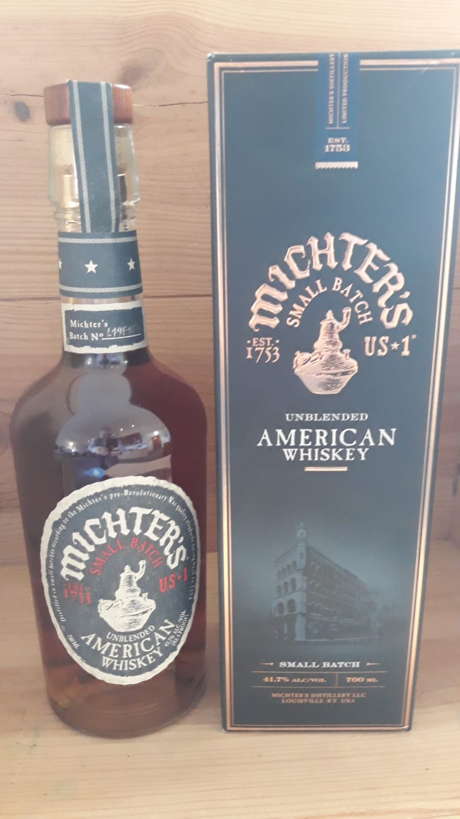 Michters No 1 Small Bach