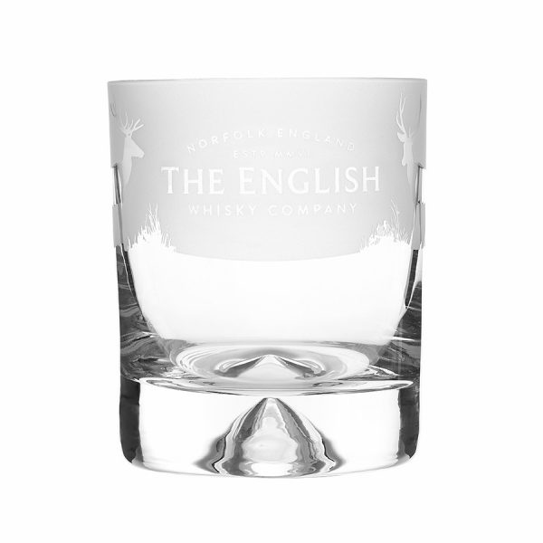 English Whisky Frosted Tumbler